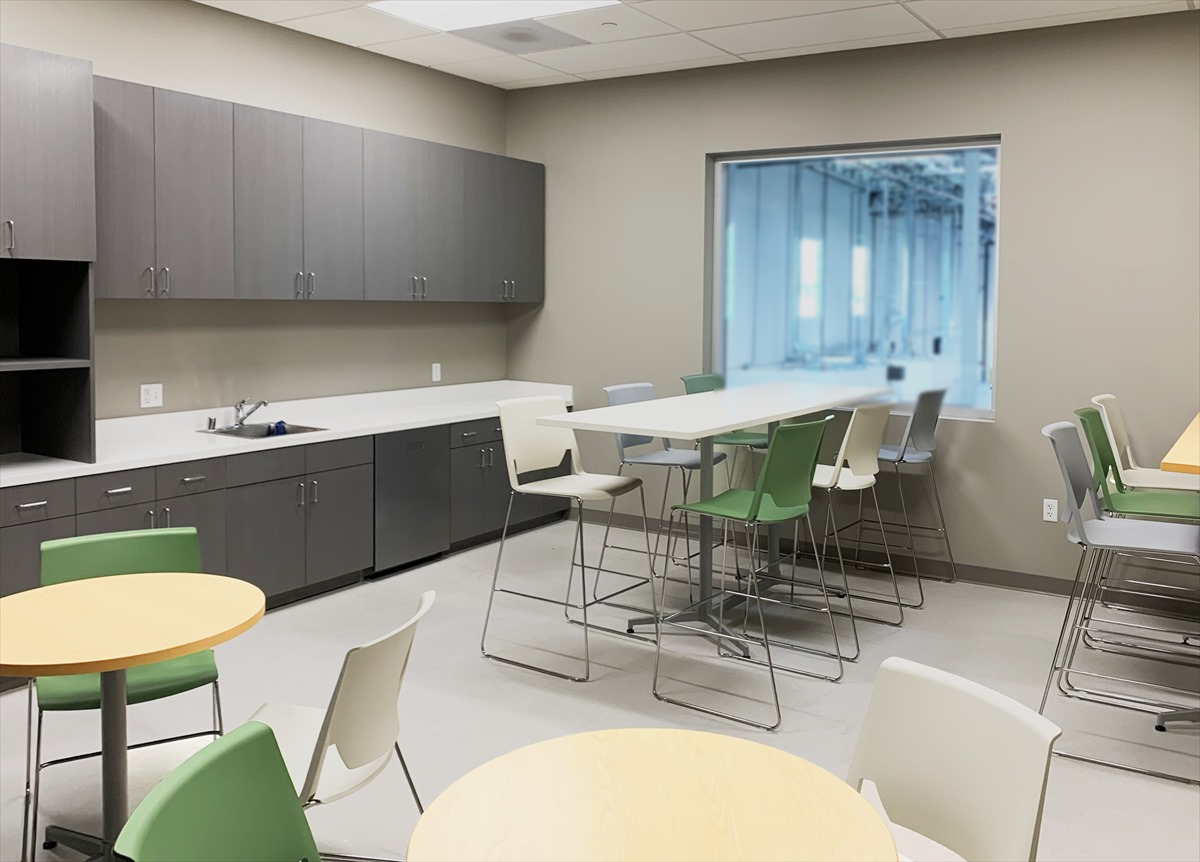 Our office design work for a transportation company