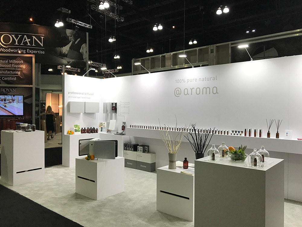 Trade Show for At Aroma