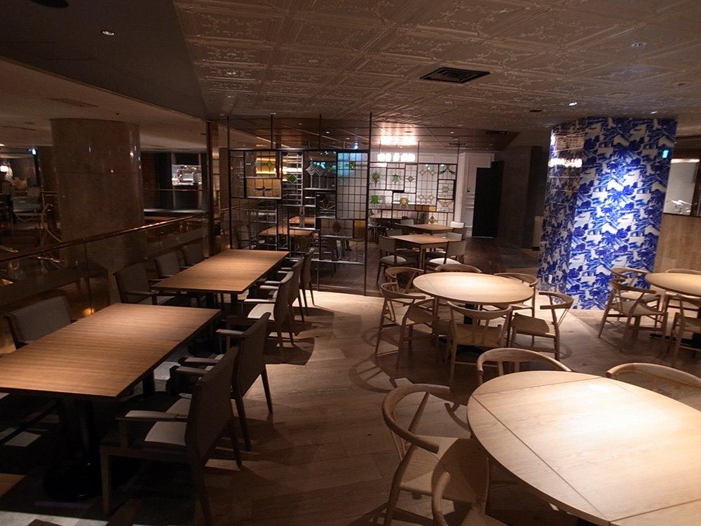 Interior design for Hilton Hotel Tokyo