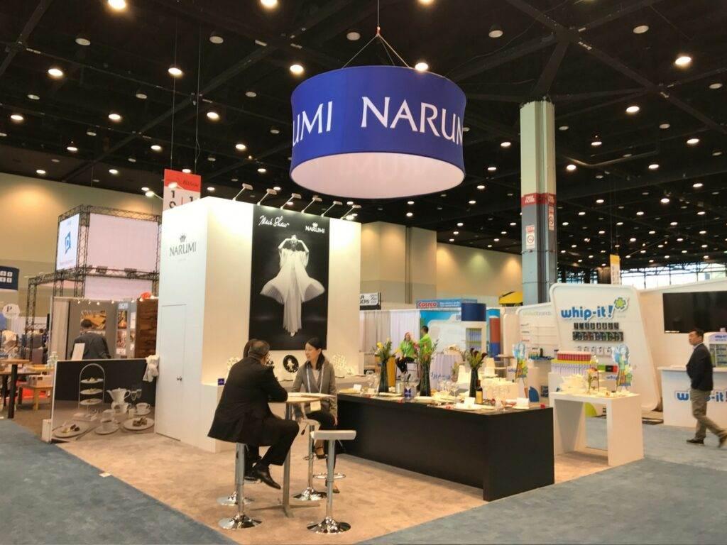 Narumi trade show
