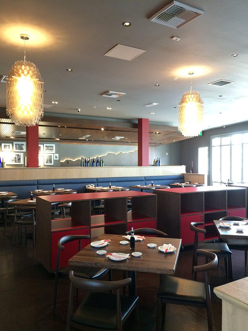 Restaurant design, Tokyo Table