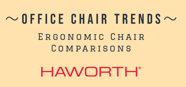 Office chair trends: ergonomic chair comparisons