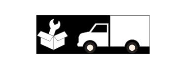 納品と家具の設置